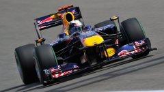 Болидът на Red Bull - RB6 има шанс да е най-бързата кола в Барселона