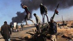 Триполи пламна, Либия в хаос