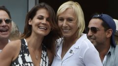 58-годишната бивша №1 в света предложи брак на Лемигова през септември по време на US Open.
