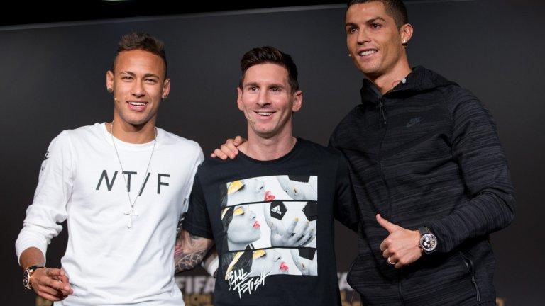 Те са не само най-добрите футболисти в света, но и най-добре печелещите в Instagram. В топ 10 обаче има и бивш футболист, както и няколко души от други спортове
