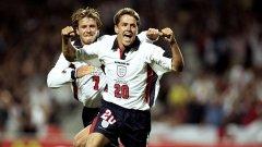 Голът, който разтърси света - Бекъм опитва да го настигне, след като Оуен е минал на слалом половината аржетински отбор за гола си през 1998 г.