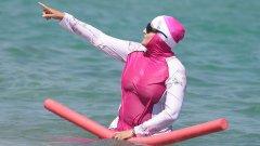 Нов скандал около нетрадиционния бански костюм