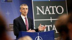НАТО не вижда Русия като заплаха, каза Столтенберг