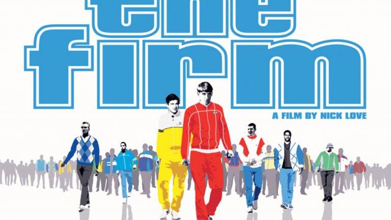 """""""The Firm"""" (2009) Филмът е създаден въз основа на сериала отпреди 20 години със същото име, но в него главен герой е Дом, който в първия филм изпълнява периферна роля. Дом много иска да се докаже сред тарторите на Уест Хем и  успява да го стори. В един момент животът, изпълнен с насилие, вече не е по вкуса му и иска да се откачи, което не се оказва толкова лесно нещо."""