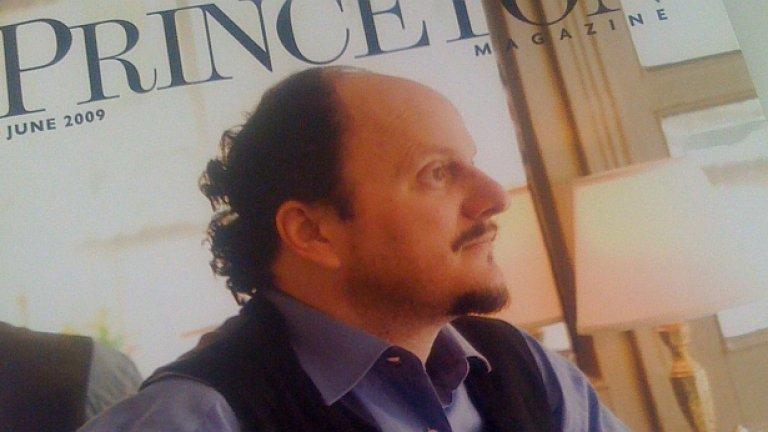 """Носителят на """"Пулицър"""" за """"Мидълсекс"""" Джефри Юдженидис на корицата на списание """"Принстън"""""""