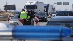Причината е премахването на КПП-тата между областните градове и засилването на трафика