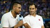 Кирьос скочи на Федерер: Само ти искаш сливането