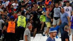 УЕФА ще умува дали и как да наказва Русия след сблъсъците по трибуните
