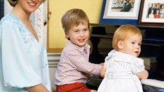 За първи път децата на принцесата, принцовете Уилиям и Хари разкриват неизвестни досега подробности около живота на майка си