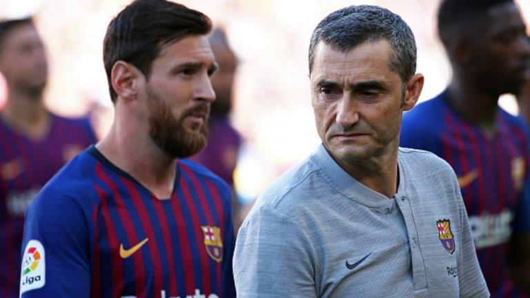 2. Ернесто Валверде (Барселона) - 23 млн. евро/20.2 млн. паунда Барса на Валверде две години отпада срамно в Шампионската лига, но това не променя факта, че треньорът печели солидни пари.