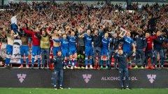 По пътя към Шампионската лига звездашите имат само още едно препятствие и това са швейцарците от Йънг бойс.