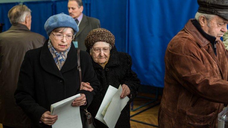 Руските власти уважавали избора на жителите, но не приемали резултата