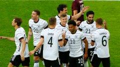 Германия уплаши конкуренцията с гръмко 7:1 преди Европейското