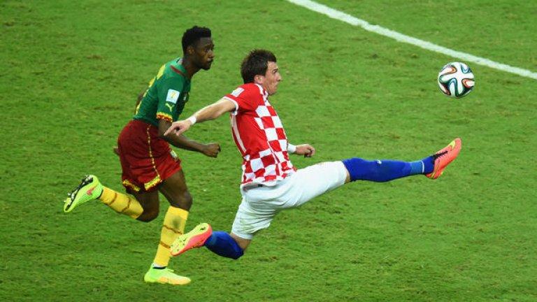 Марио Манджукич има вече два гола на турнира и е гладен за още.