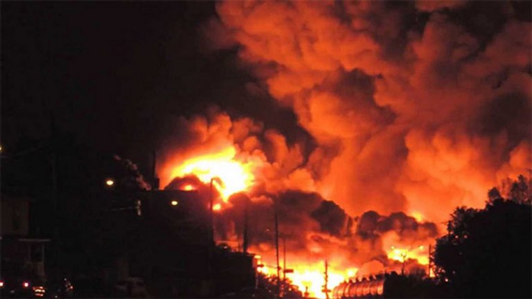 Инцидентът е станал при незаконно източване на нефтопровода
