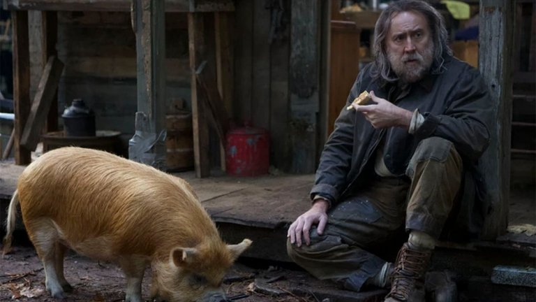 """Като """"Джон Уик"""", но с отвлечено прасе. И не е екшън, а драма"""