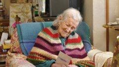 Ема Морано отдавала дълголетието си на строгата си диета