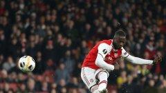 Две перфектни изпълнения от фаул дадоха победата на Арсенал, а Пепе се превърна в златна резерва