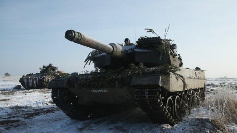 Леопард 2 - Германия разполага с 225 машини на въоръжение