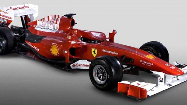 Ferrari представи новия си болид F10