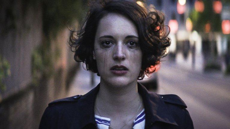 """Най-добър комедиен сериал: Fleabag (Amazon)  Другите номинирани: """"Бари"""" / Barry (HBO) """"Удивителната мисис Мейзел"""" (Amazon) Mom (CBS) One Day at a Time (Netflix) Pen15 (Hulu) Schitt's Creek (Pop)"""