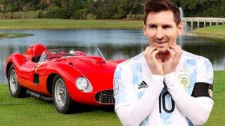 Как Меси изигра Роналдо за най-скъпия автомобил на планетата