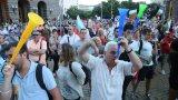 """Исканията на демонстрантите са същите, като на събралите се в София на площад """"Независимост"""" - оставка на правителство и на главния прокурор ИванГeшeв"""