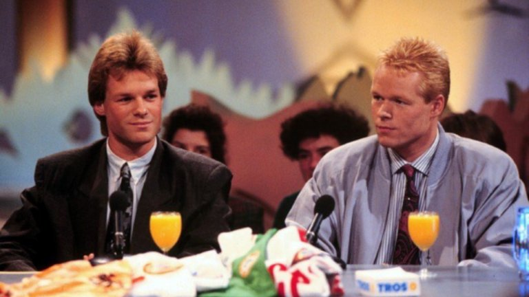 Братята Куман от началото на 90-те по време на гостуване на холандска телевизия.