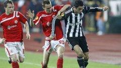 ЦСКА отстъпи на Бешикташ с 1:2 и загуби шансове за продължаване в следващата фаза на Лига Европа