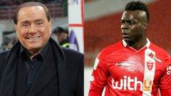 Берлускони вече е на 84, а Балотели е видимо натежал, но с тях двамата в Монца няма как да е скучно