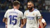 Хеттрик на Бензема и гол на дебютант за зрелищен разгром на Реал