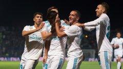 Реал успя да открие резултата едва в средата на второто полувреме, когато Асенсио вкара първата дузпа