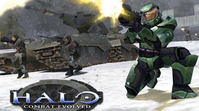 Halo: Combat Evolved  Halo: Combat Evolved бе първата игра за Xbox изобщо. Тя постави основата на цял един нов франчайз, превърнал се в класика, а с годините легендарният Master Chief се циментира като един от символите на конзолата на Microsoft. Halo просто бе шутър от ново поколение - една класа над всички останали.