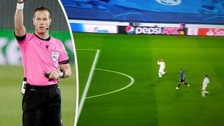 Как съдията спаси Реал от почти сигурен гол (видео)