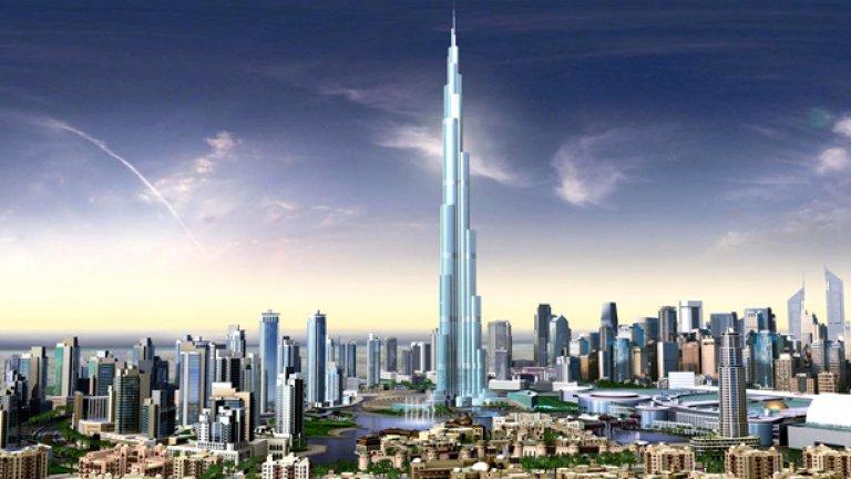 Откриха Бурдж Дубай