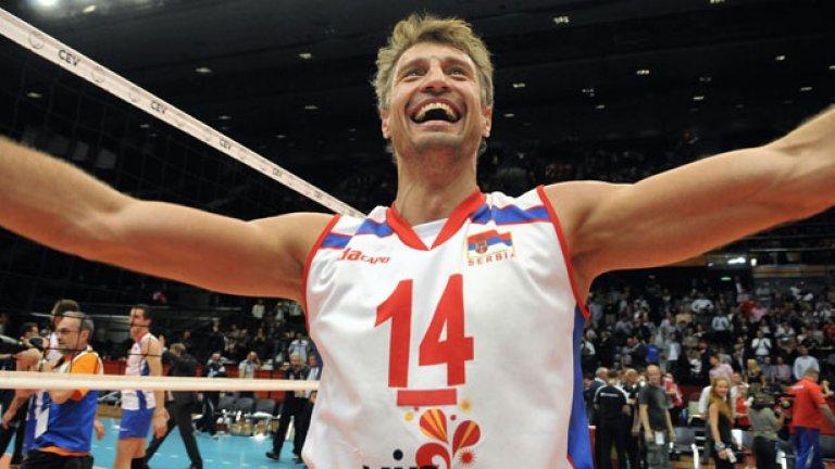 Сърбия ни показа как се прави, печелейки европейската титла по волейбол