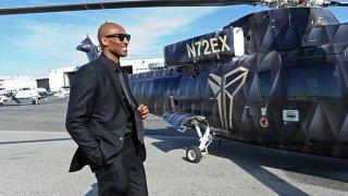 Кобе постоянно пътуваше с хеликоптер през последните десетина години.