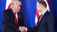 Американският президент Доналд Тръмп се обяви за по-голямо сътрудничество между САЩ и страните на Балтийско, Черно и Адриатическо море.