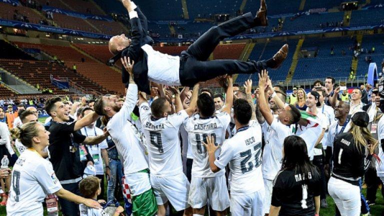 Да спечелиш Шампионската лига в дебютния си сезон като треньор - наистина впечатляващо.