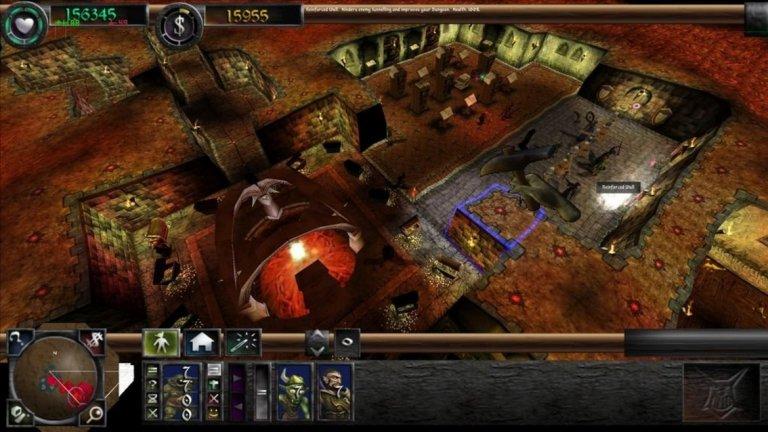 Dungeon Keeper  Dungeon Keeper е легендарна стратегическа игра, в която играчът изгражда и управлява подземия с намерението да попречи на героите да ги освободят, докато унищожава своите конкуренти-демони. Това, което наистина отличава Dungeon Keeper от другите подобни стратегии, е изтънченото - и почти перверзно - чувство за хумор. Играта леко ви подтиква да измъчвате, убивате или крадете от всеки, който ви се противопоставя и дори да тормозите и злоупотребявате със своите слуги за да ги накарате да работят по-бързо.  Тук откриваме даже по-дълбока жестокост и мотивация за ужасните дела, която липсва в повечето други игри в тази класация. Защото на практика ви е дадено разрешение да прекарвате жертвите си през продължителни страдания и мъчение, а не просто да ги елиминирате.