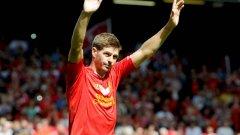 Момчето си отива. След 16 години в Ливърпул, Джерард ще напусне клуба през лятото.