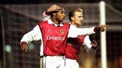 Тиери Анри и Денис Бергкамп - двама от символите на великия отбор на Арсенал.