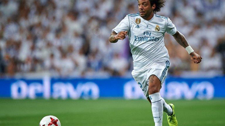 2. Бековете на Реал не приличат на себе си, тези на Барса намериха нови сили  През този сезон спадът при Марсело на моменти е направо шокиращ, докато Жорди Алба продължава постоянната си игра и впечатляващото си партньорство с Меси. Този контраст при левите бекове добре илюстрира разликата между големите съперници в момента. Бековете на Реал, които по начало са много важни за стила на отбора, са допринесли само с една асистенция дотук, докато тези на каталунците имат вече 11.