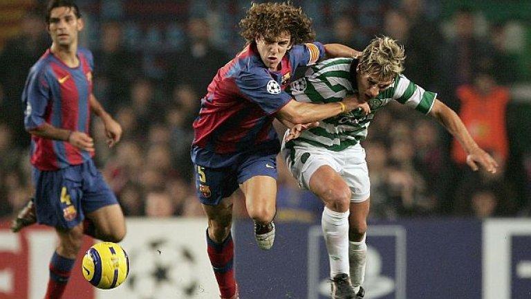 5. Карлес Пуйол – през сезон 1999/00 Пуйол е на път да напусне Барселона, тъй като все още играе за Б отбора на каталунците. Ван Гаал обаче му дава шанс в мъжкия отбор и защитникът изигра повече 30 мача през онзи сезон. След това Пуйол се превърна в една от емблемите на клуба.