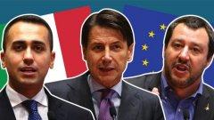 """Управляващата коалиция между """"Пет звезди"""" и """"Лигата"""" е на път да се разпадне официално"""