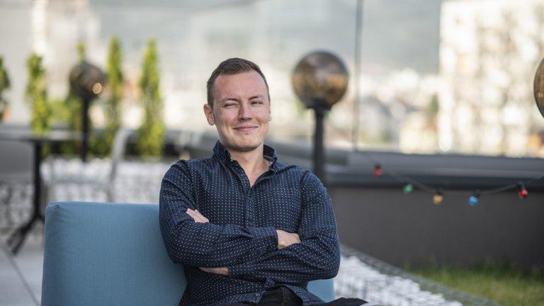 Войтех е един от хората, избрали да живеят в България и да работят в софийския офис на The Stars Group