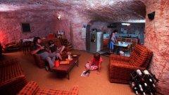 Животът в Кубър Педи се случва под земята