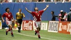 Българска радост след изравнителния гол срещу Германия
