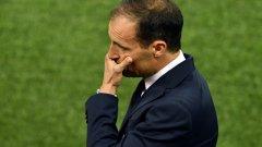 Макс Алегри има сериозни проблеми преди сблъсъка с Лацио