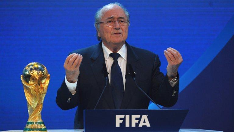 Сеп Блатер бе преизбран за четвърти пореден мандат за президент на ФИФА